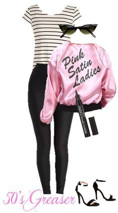 Make this quick 50's Greaser Halloween costume with supplies from your own closet! Plus see four more costumes anyone can make right from their closets.