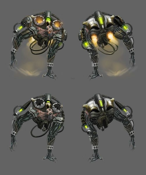 XCOM: Enemy Unknown concept art
