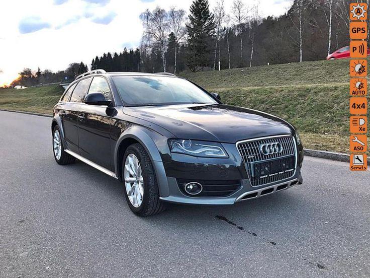 Audi A4 Allroad - Gwarancja,100% Przebieg,Oryginał Lakier, Bi-Xenony, Automat - 7 Biegów