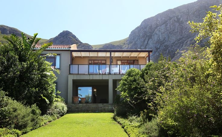 183 on 6th Street: Back view of House.   FIREFLYvillas, Hermanus, 7200 @fireflyvillas ,bookings@fireflyvillas.com,  #183on6thStreet #FIREFLYvillas #HermanusAccommodation