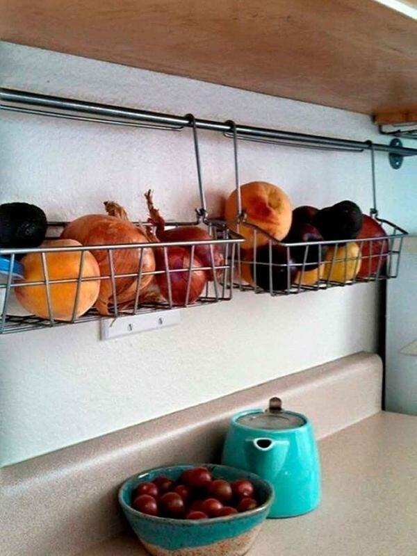 M s de 1000 ideas sobre cestas met licas en pinterest for Utensilios decoracion cocina