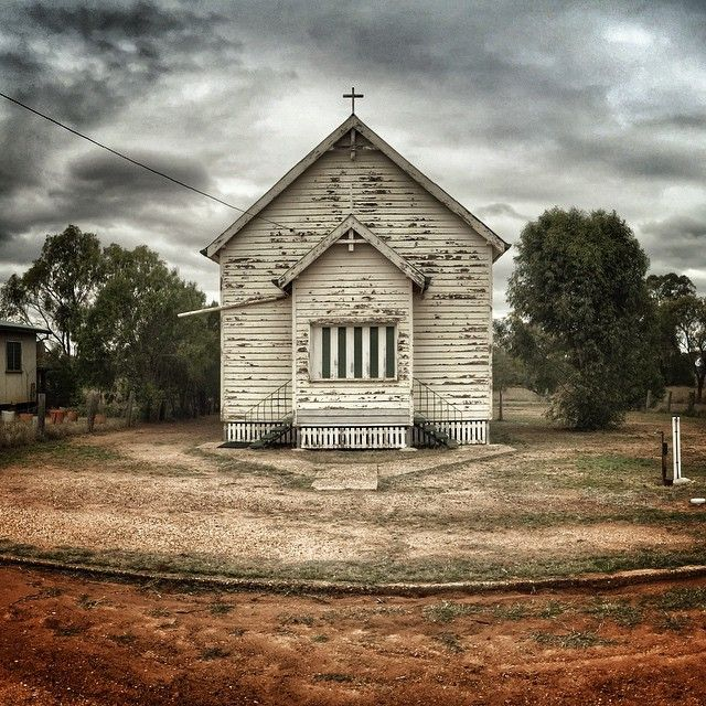 Keep the faith. #neversaydie #faith #life #oldschool #oldchurches #church #sepia #seeaustralia #hope #outback #queensland #australia