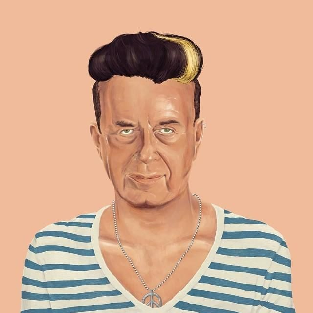 Yitzhak Rabin  This Creative Artist Re-Imaged 18 World Leaders As Hipsters • Page 5 of 5 • BoredBug