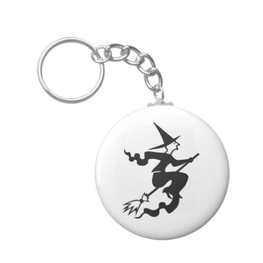 Witch Keychain
