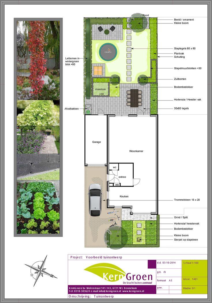 Een nieuwe tuin begint met een tuinontwerp hierin kunnen wij al uw wensen meenemen zodat u - Tuin ontwerp exterieur ontwerp ...