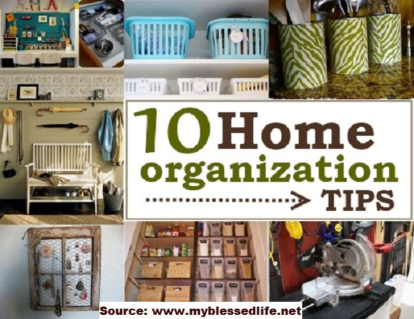 10 Home Organization Tips...For more creative tips and ideas FOLLOW https://www.facebook.com/homeandlifetips