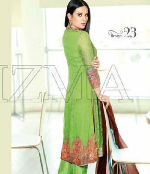 Charizma Luxury Chiffon Festive Collection Design-23