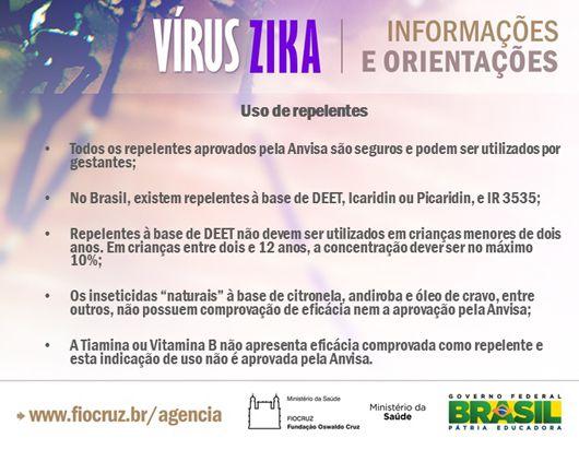Agência Fiocruz Uma das formas de prevenção contra as infecções transmitidas pelo mosquito Aedes aegypiti – dengue, chikungunya e vírus zika, é o uso de repelentes. A Agência Nacional de Vigi…