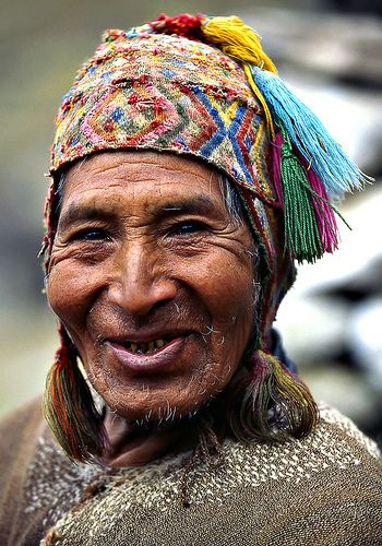 Peru..................... by Sergio Pessolano, via Flickr  People of the world. Beautiful in their own way