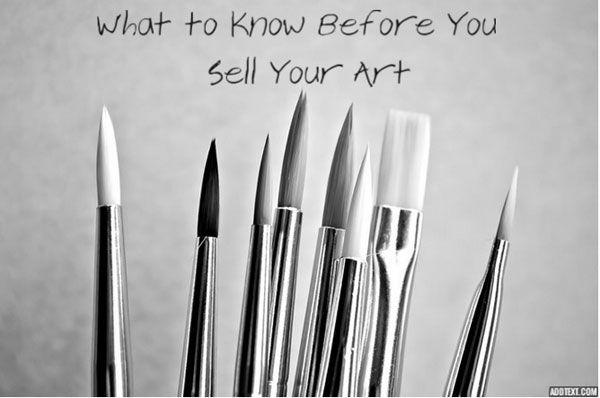 Advice for selling your art | ArtistsNetwork.com #ArtBusiness #Artists #ArtLife