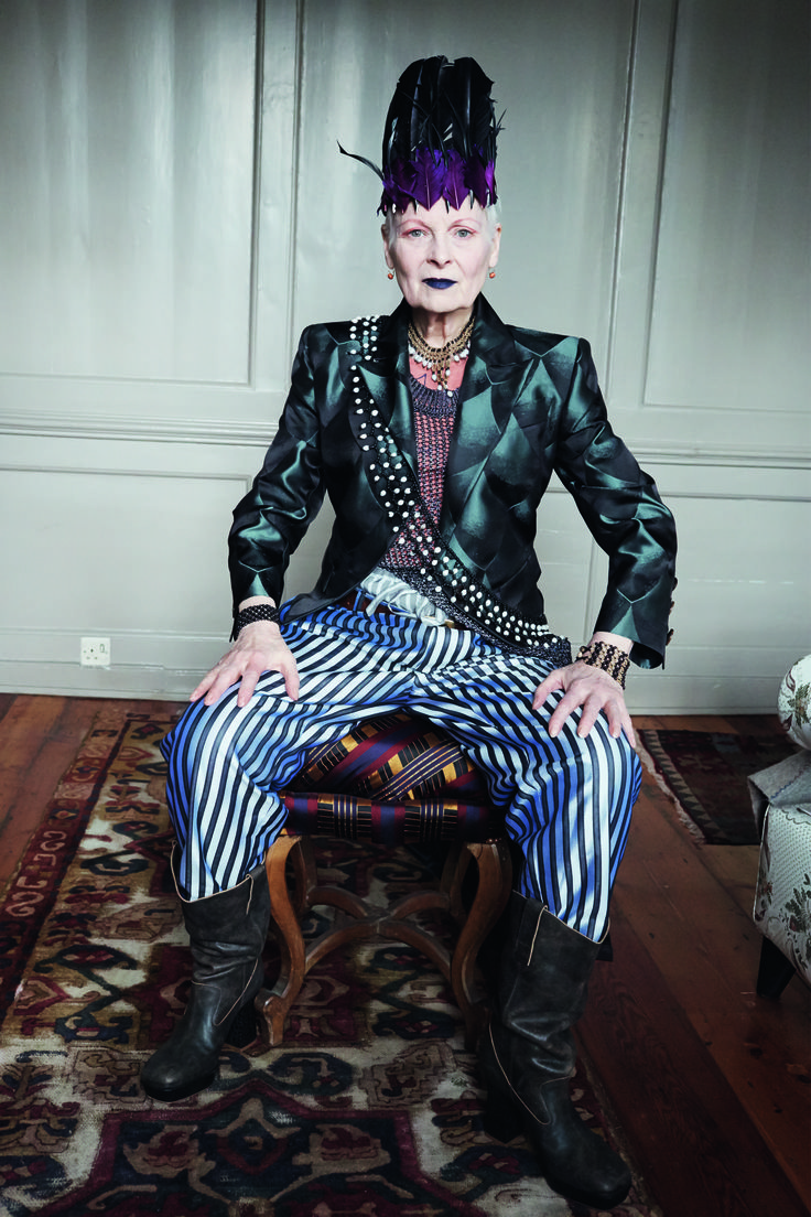 Autumn/Winter 2014-15 Campaign featuring Vivienne Westwood and photographed by Juergen Teller.