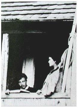 Rainer Maria Rilke and Lou Andreas-Salome