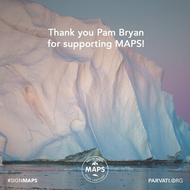Gratitude to Pam Bryan for supporting MAPS