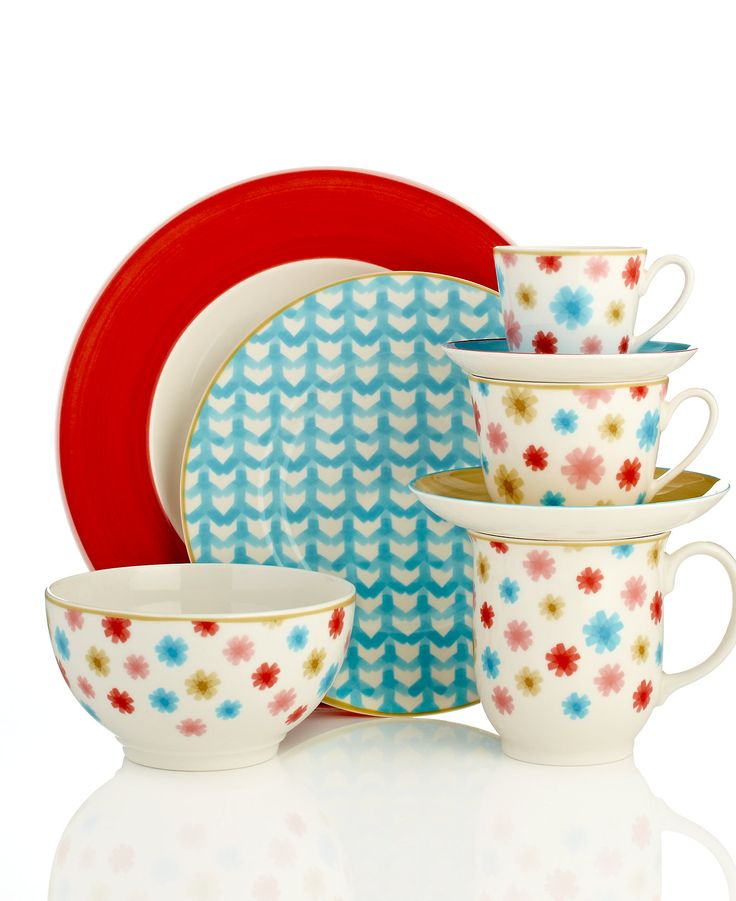 villeroy u0026 boch lina dinnerware collection casual dinnerware dining u0026 macyu0027s canu0027t decide if this is cute or not for everyday dishes