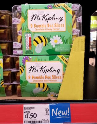 Mr Kipling Bumble Bee Slices & More