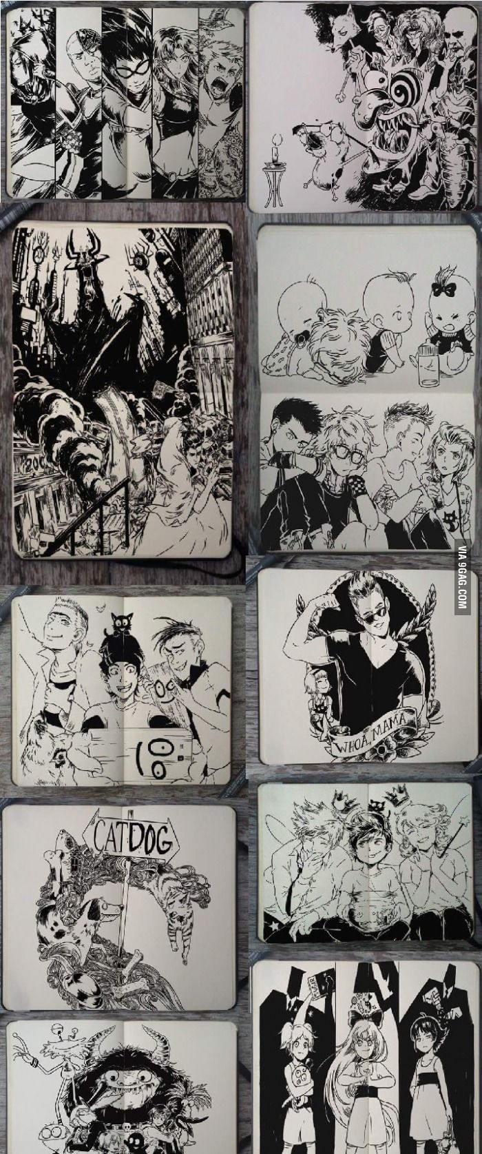 old cartoon characters