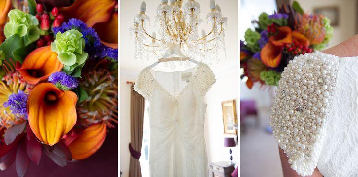 Bride Flowers by Cosmic Flowers