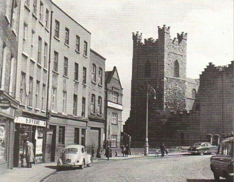 Cornmarket, Dublin, Ireland 1960's.