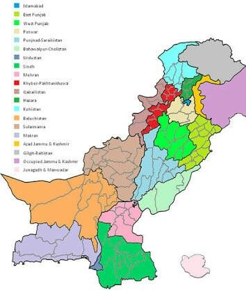 Melhores Ideias De Map Of Pakistan No Pinterest Território - Pakistan map