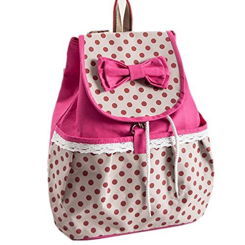 Girl's Lovely Sweet Bowknot Leisure Canvas Backpack for Student (Rose) HAPPY BAG http://www.amazon.com/dp/B00DSWQSUS/ref=cm_sw_r_pi_dp_Mbz5tb1T60F2E