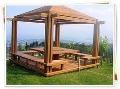 Cómo hacer una pérgola de madera en el patio ¡Paso a paso! (De Fabrizio Romero Carvajal)