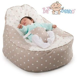 Bambeano® Baby Bean Bag Support Chair - Natural