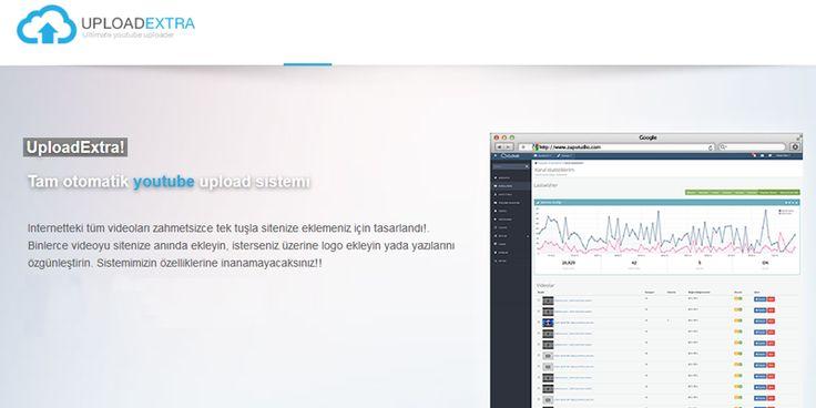 Youtube Kazanç Sistemi -Uploadextra | Sanal Kod - Türkiye'nin Webmaster Marketi.