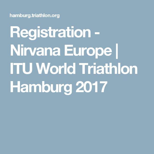 Registration - Nirvana Europe | ITU World Triathlon Hamburg 2017
