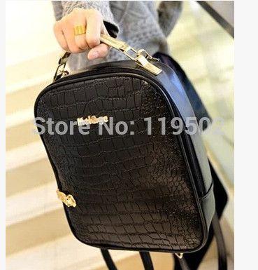 Дешевое Девушки двойного назначения сумка мода кожа PU рюкзак студентов школьный, Купить Качество Рюкзаки непосредственно из китайских фирмах-поставщиках:        Девушка двойного использования мешок Мода Кожа PU рюкзак студентов колледжа школьный                    Fea