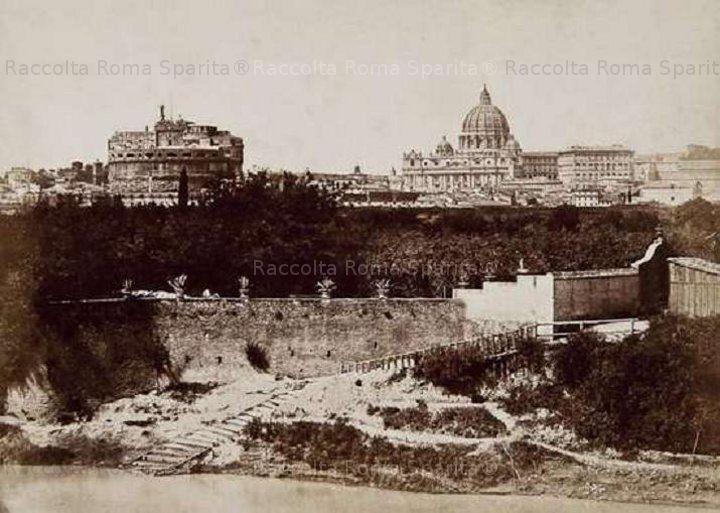 Roma Sparita - Panorama da Villa Altoviti