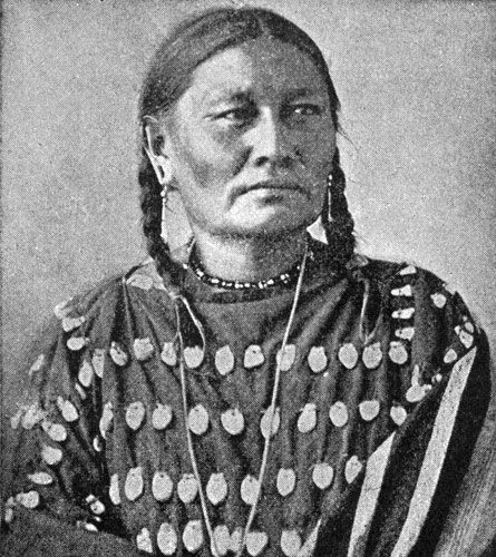 Ear of Corn - Oglala Sioux Woman, no location or date