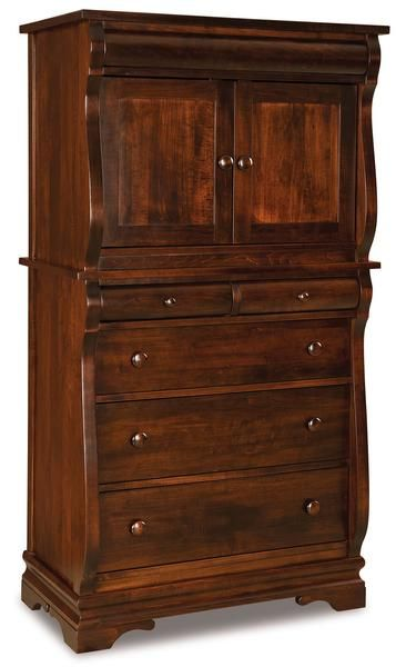 amish chippewa sleigh chest armoire in 2019 bedroom furniture rh pinterest com
