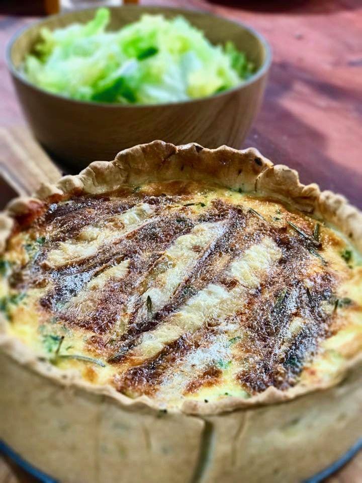 Quiche lorraine selon Laurent Mariotte - Recette de cuisine