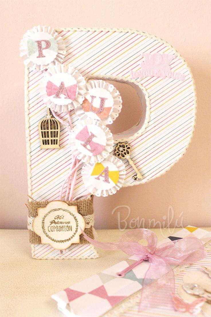M s de 25 ideas fant sticas sobre letras para nombres de - Letras decorativas pared ...