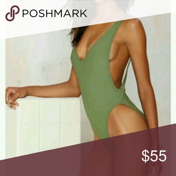 NASTY GAL Alina swimsuit new! Size M New with tags. Nasty Gal Swim One Pieces
