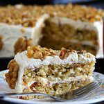 Pro-biotic Maple Walnut Cake | Eggless Cooking