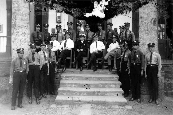 Cuerpo de bomberos 1913