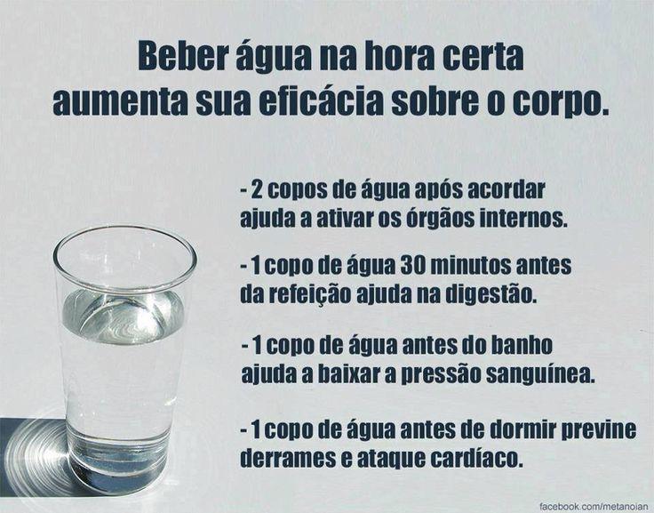 Importância da água