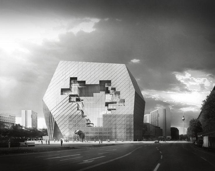 Bloomimages architecture visualisation buro ole for Buro architectes