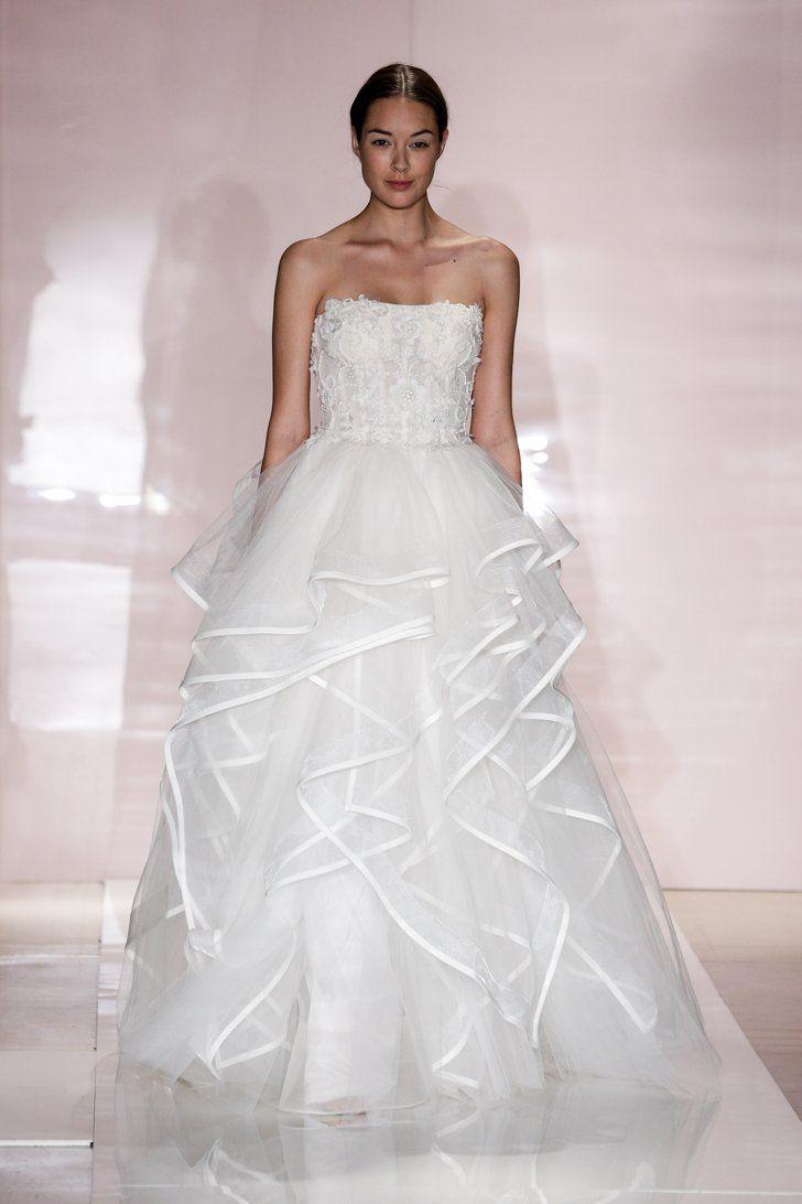 Pin for Later: Les Plus Belles Robes de Mariée de la Bridal Fashion Week Automne 2014  Reem Acra Bridal Autumn 2014