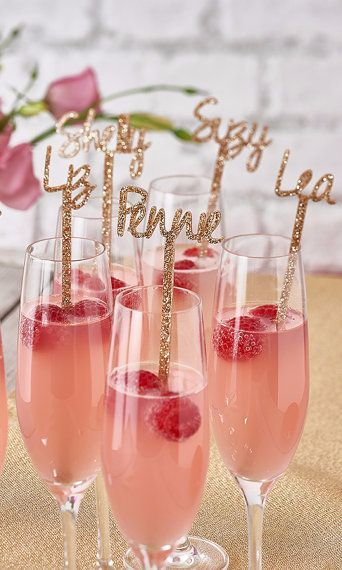 Personalised Swizzle Stick-Drink Stirre