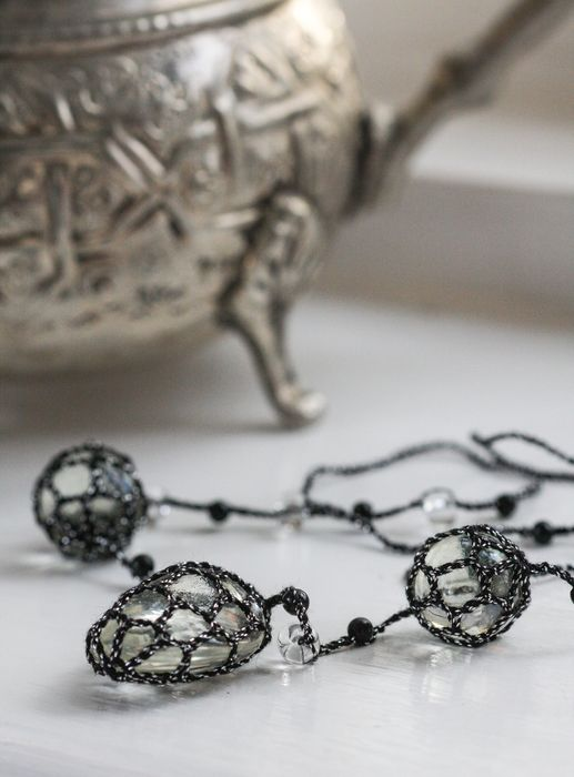 Moonfruit necklace
