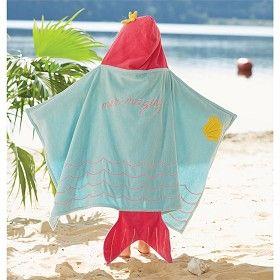 Mud Pie Mermaid Hooded Towel