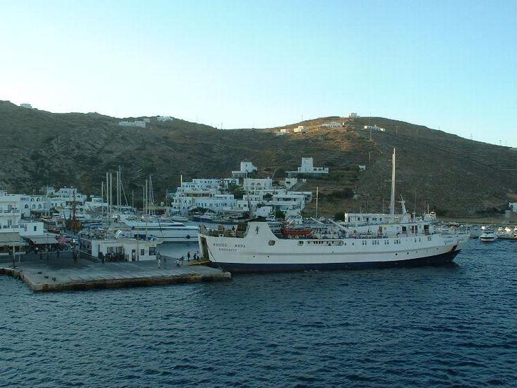 Αποτέλεσμα εικόνας για νησος θηρα πλοιο