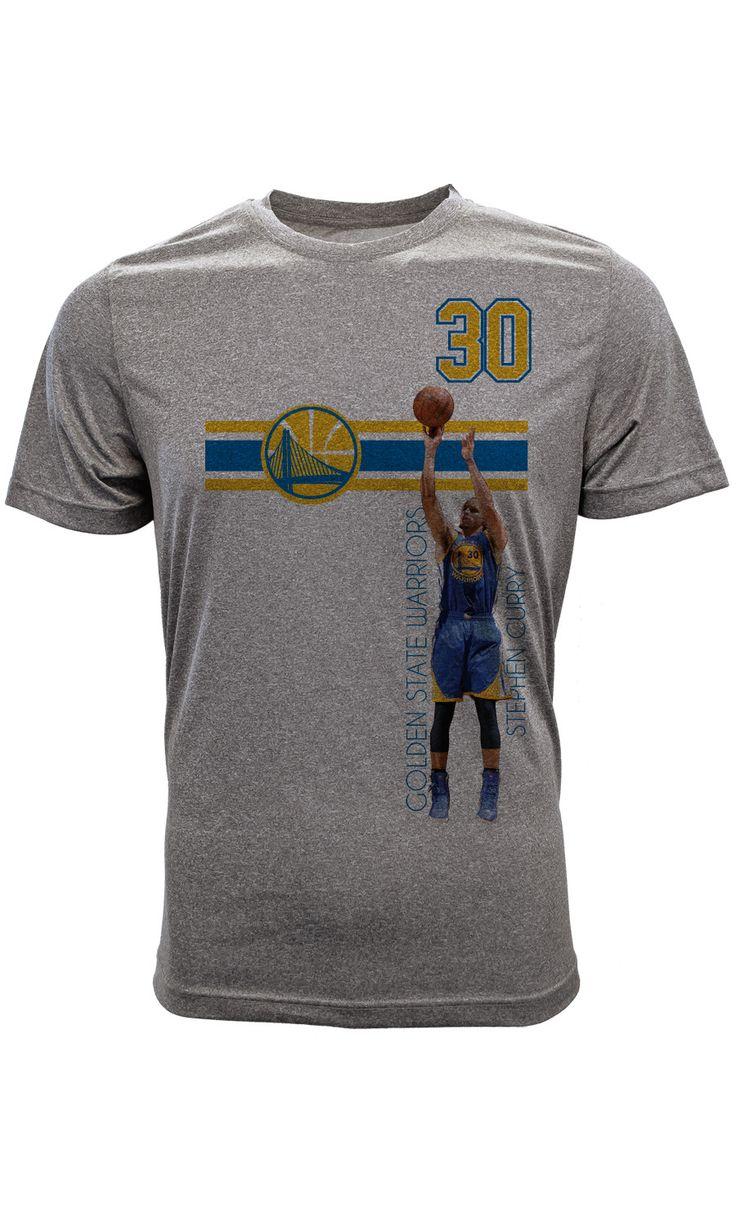 Stephen Curry Golden State Warriors Bar Stripe Player T-Shirt