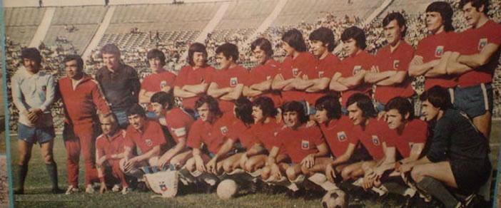 Selección Chilena, 1973.