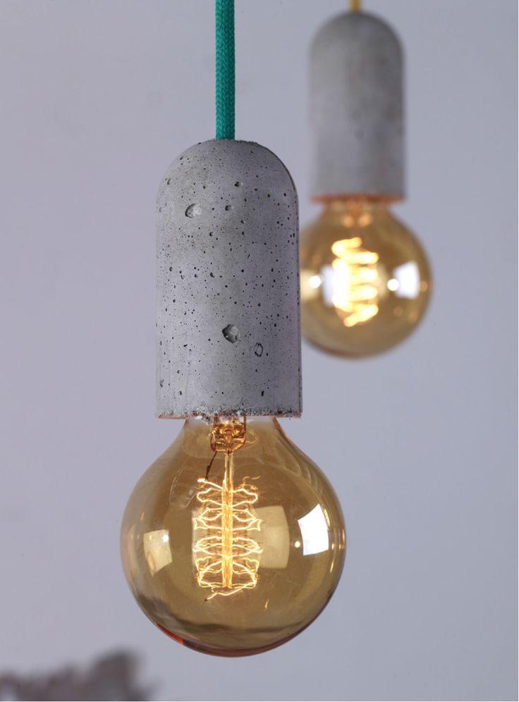 NUD, lámparas con cordones de muchos colores!!!