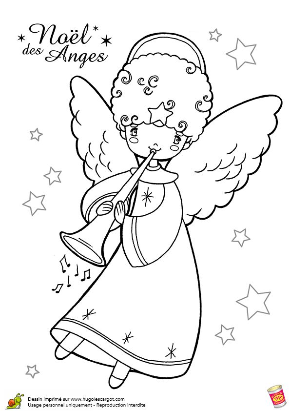 Anges De Noel Trompette, page 12 sur 12 sur HugoLescargot.com