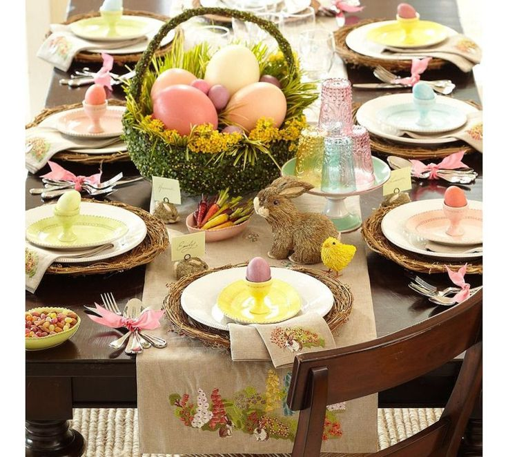 @Pottery Barn Easter decorating ideas