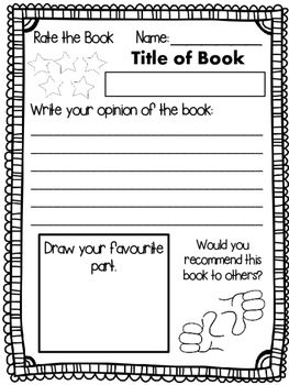 5 FREE Book Review Templates by Mrs N | Book review ...